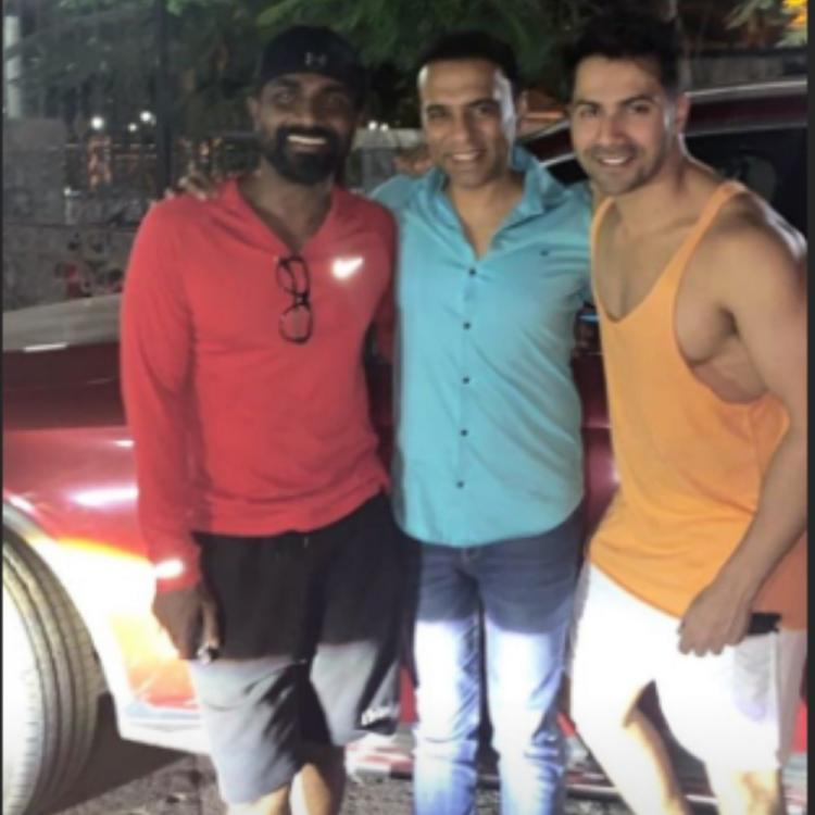Varun Dhawan's shares a picture with Street Dancer 3D director Remo D'souza as they prep up for the film; VIEW