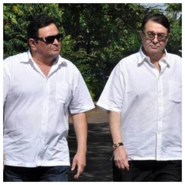 Randhir Kapoor leaves for US to be with his brother Rishi Kapoor for his treatment; Read on