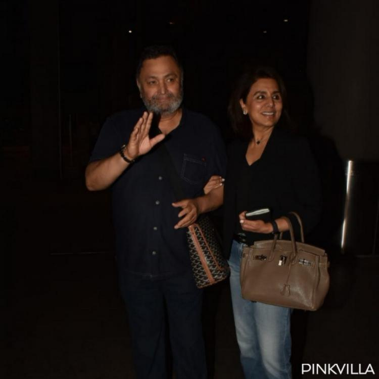 After a welcome by Ranbir Kapoor & Riddhima Kapoor, Rishi Kapoor shares when he plans to return on film sets