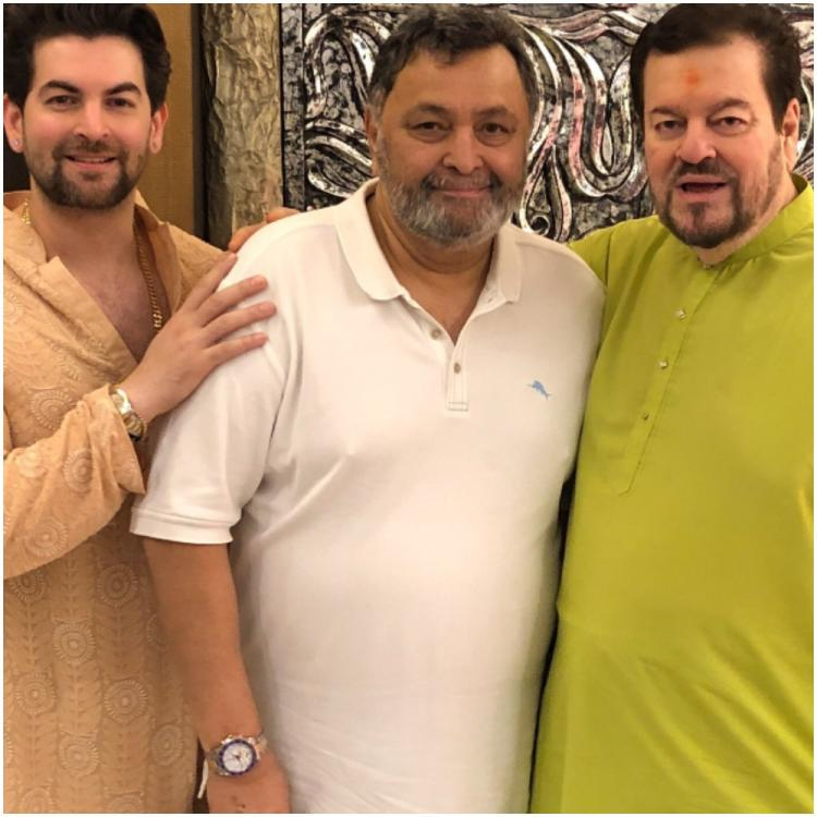 Rishi Kapoor was a father figure & my dad has been extremely upset since his demise says Neil Nitin Mukesh