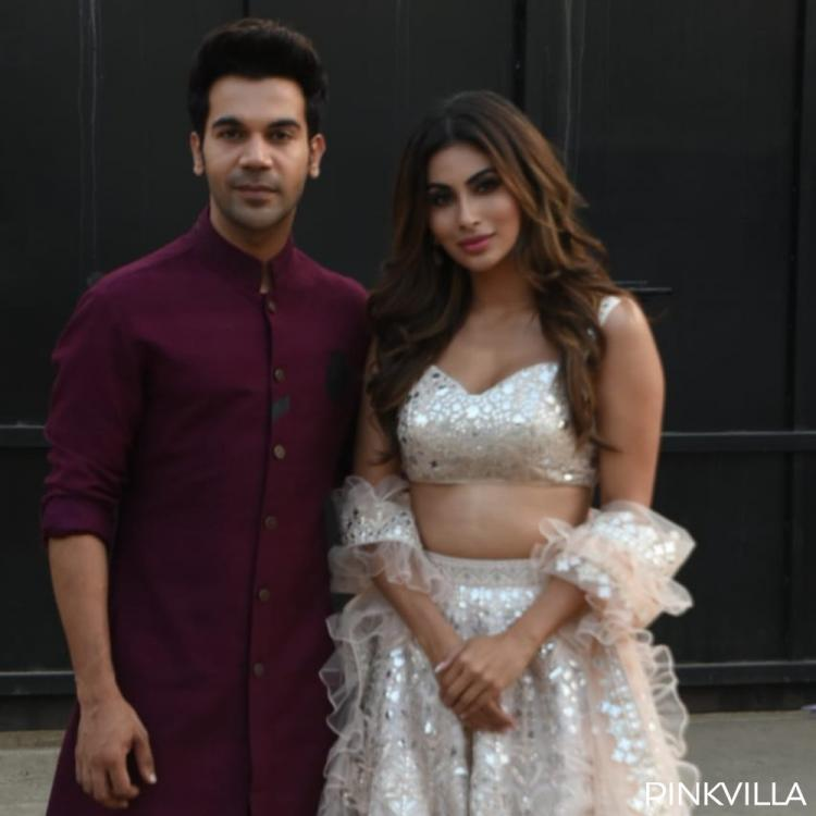 PHOTOS: Rajkummar Rao and Mouni Roy opt for traditional outfits as they step out for Made in China promotions