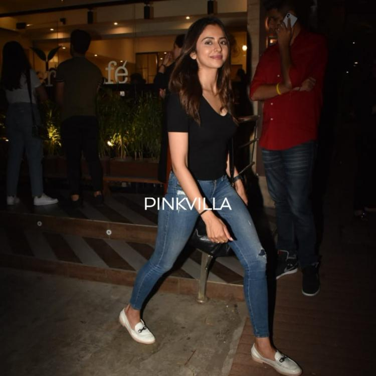 PHOTOS: Rakul Preet Singh looks chic in casuals as she steps out in the city