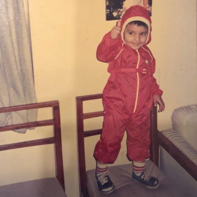 Ranveer Singh shares an adorable childhood photo to prove he was born with some stellar swag; Check it out