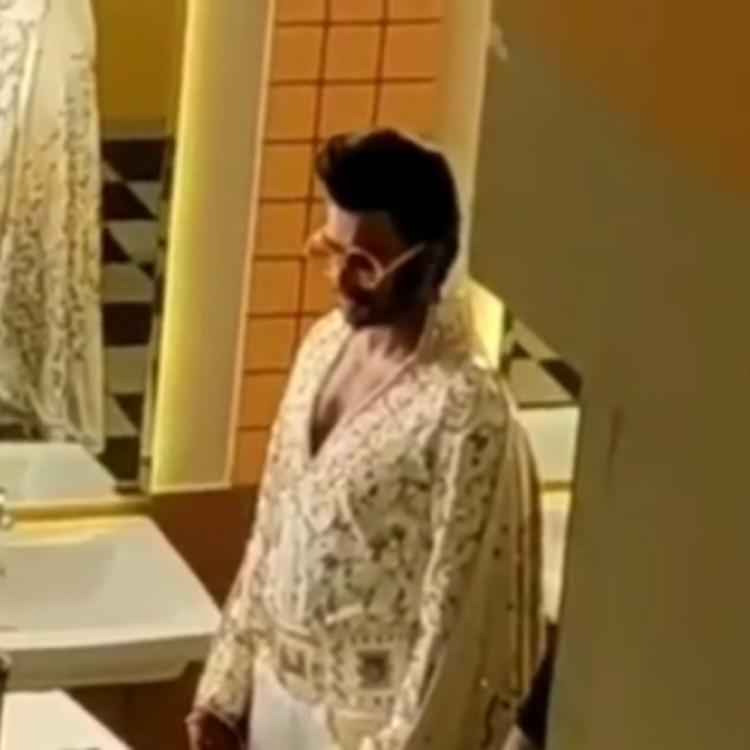 Ranveer Singh channels his inner Elvis Presley as he preps up for a shoot; WATCH Video