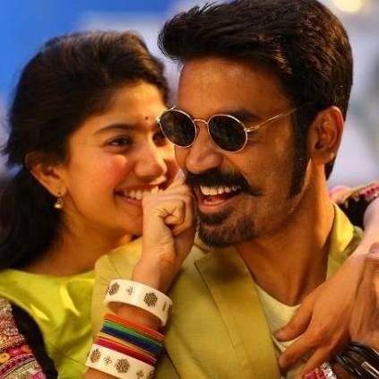 Dhanush and Sai Pallavi's song Rowdy Baby from Maari 2 sets another huge record; Check it out