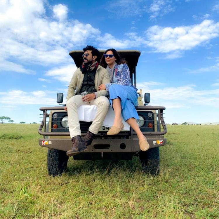 Ram Charan believes growing in love, Says wife Upasana as they holiday ahead of wedding anniversary