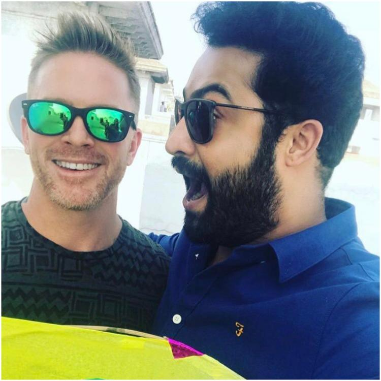 RRR: Jr NTR's fitness trainer Lloyd Stevens gives a glimpse of the actor's rigorous workout session
