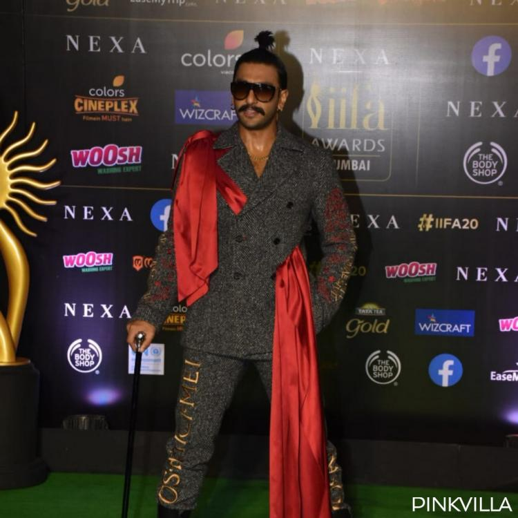 PHOTOS: Ranveer Singh pulls off yet another out of the box quirky look at the green carpet