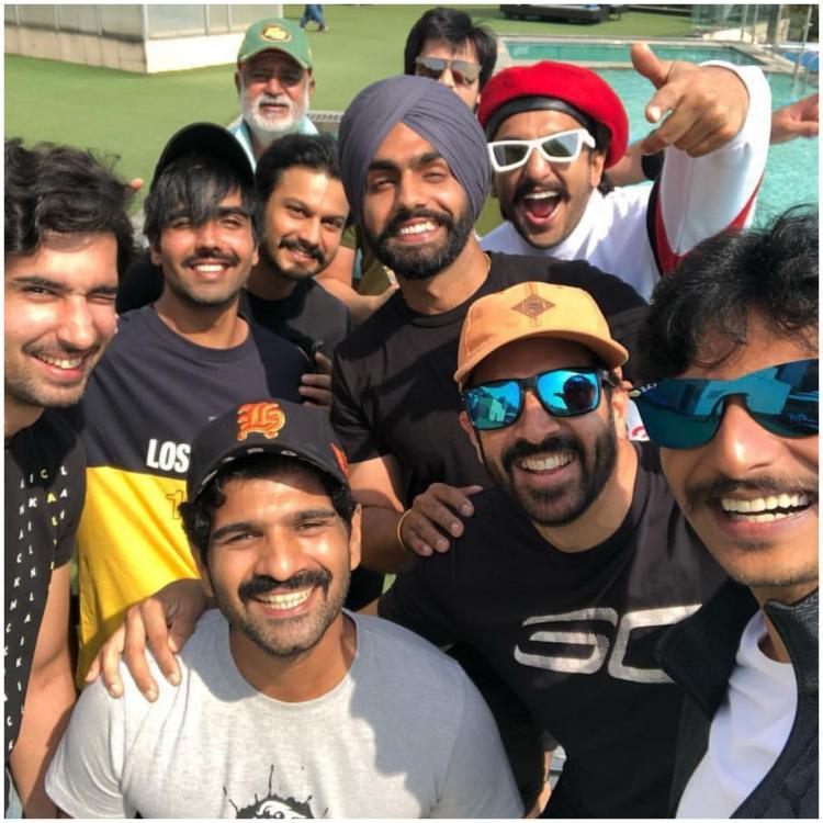 Ranveer Singh and his devils sweat it out together while preparing for the shoot of '83; WATCH
