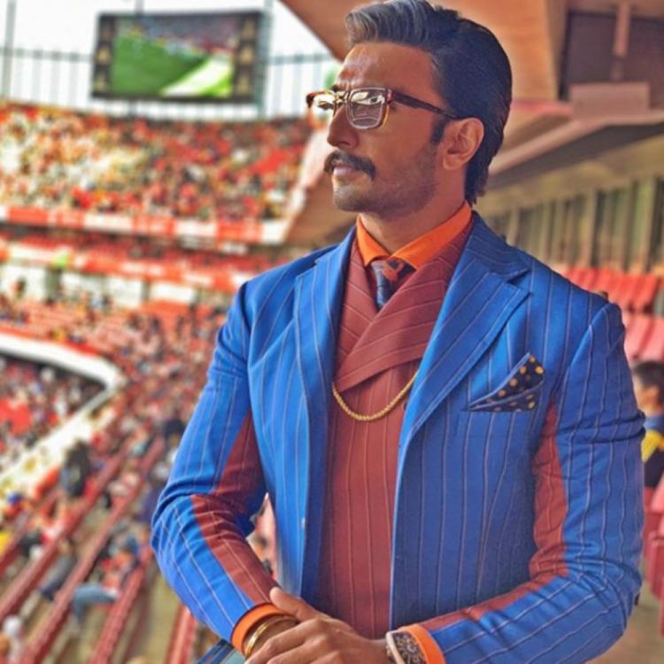 Ranveer Singh looks suave and dapper in his latest PICS & they will literally send the fans into a frenzy