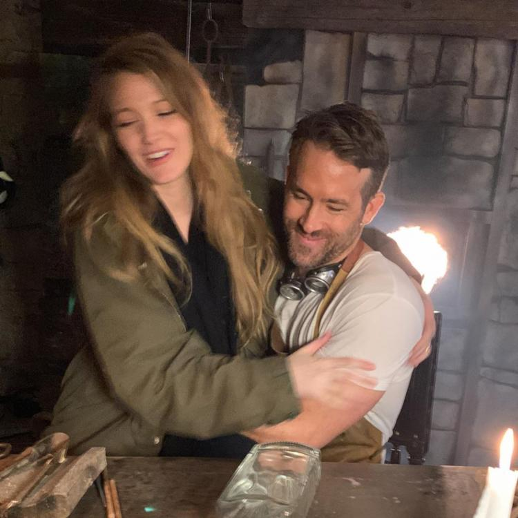 Ryan Reynolds trolls pregnant Blake Lively with unflattering photos on birthday to prove love isn't dead yet
