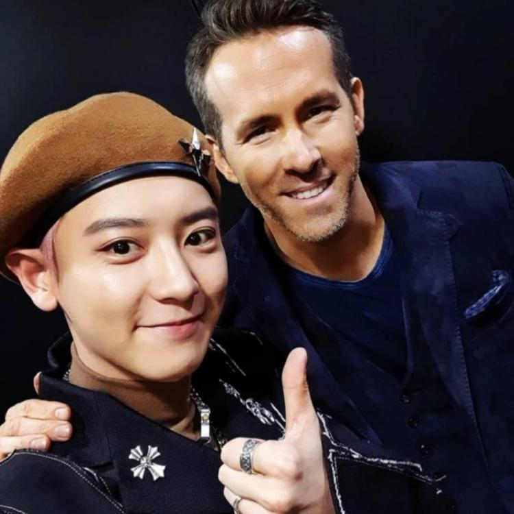 PHOTO: Ryan Reynolds meets EXO: Deadpool star poses with Chanyeol while he jokes about joining the K pop band