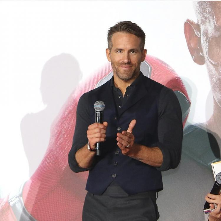 Ryan Reynolds and Bradley Cooper accompany their daughters on a play date
