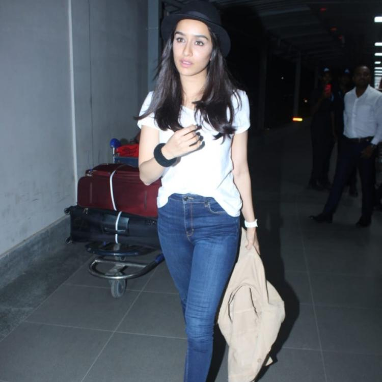 Airport Diaries: Shraddha Kapoor perfects her chic look post coming back from Saaho shooting