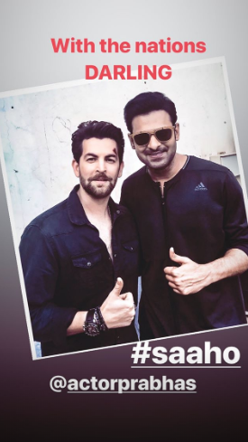 Saaho: Prabhas, Neil Nitin Mukesh & Shraddha Kapoor's unseen on set photos will leave you excited for the film