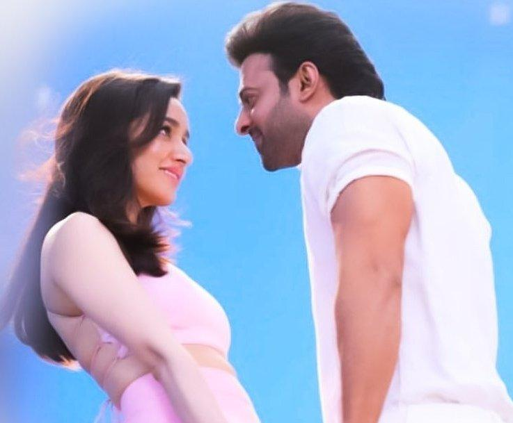 Saaho LEAKED photo: Prabhas & Shraddha Kapoor's chemistry looks magical as they look into each other's eyes