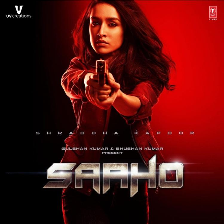 Prabhas shares Shraddha Kapoor's FIRST poster from Saaho along with teaser details; Check it out