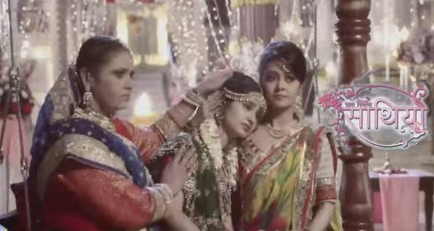 Saath nibhana saathiya rashi and jigar wedding hairstyles