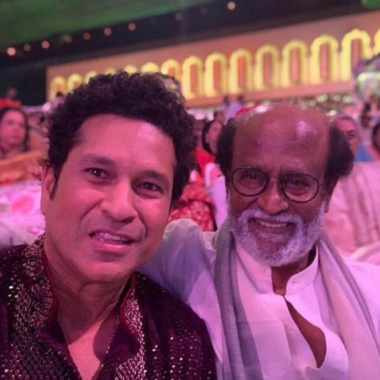 Sachin Tendulkar's selfie with Rajnikanth is a true example of two legends in one frame; See Photo