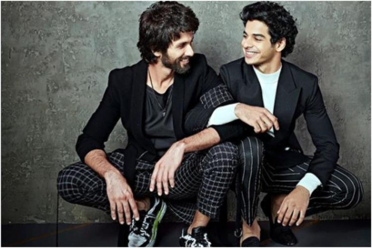 Shahid Kapoor's note to Ishaan Khatter as he starts shooting for Khaali Peeli is every brother ever
