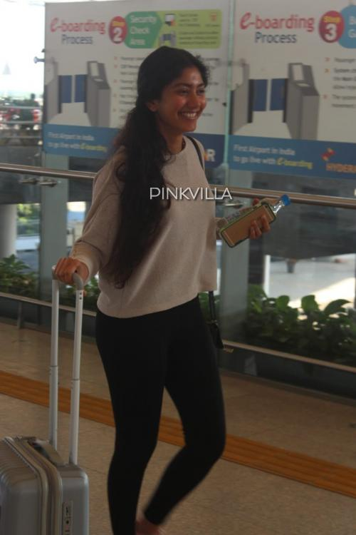 Airport Diaries: Sai Pallavi looks pretty as ever as she goes makeup free
