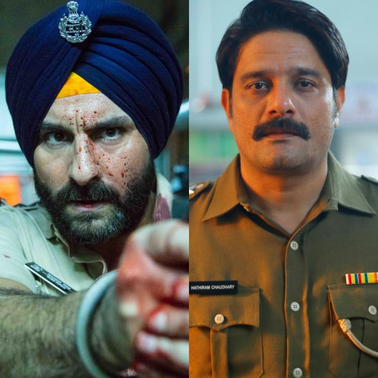 Saif Ali Khan and Jaideep Ahlawat both play tough cops in Sacred Games and Paatal Lok respectively.