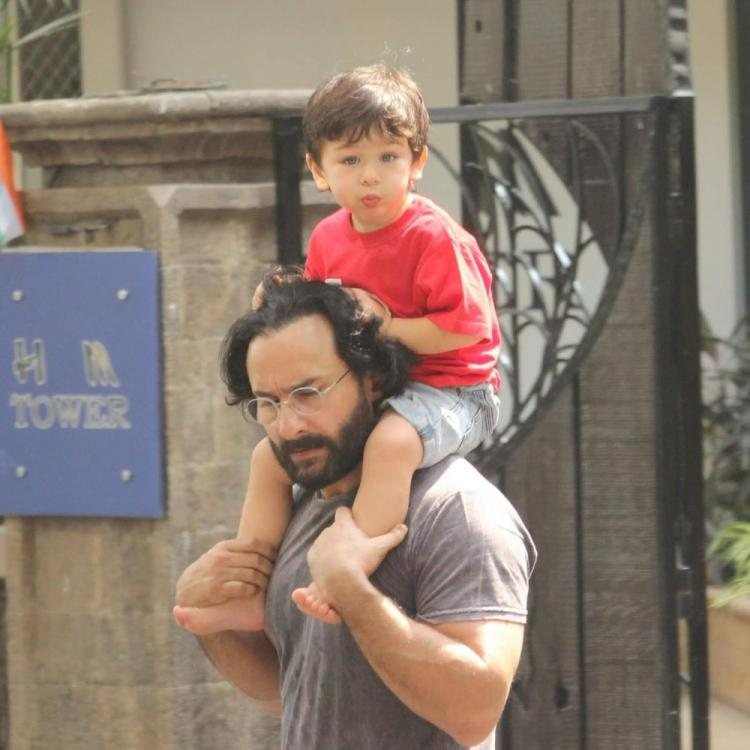 Saif Ali Khan on Taimur Ali Khan: He's quite a nature boy and loves running around outside barefoot