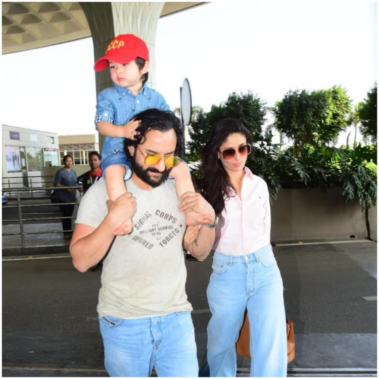 Saif Ali Khan talks about son Taimur Ali Khan's Bollywood debut; says 'I feel there should be other choices'