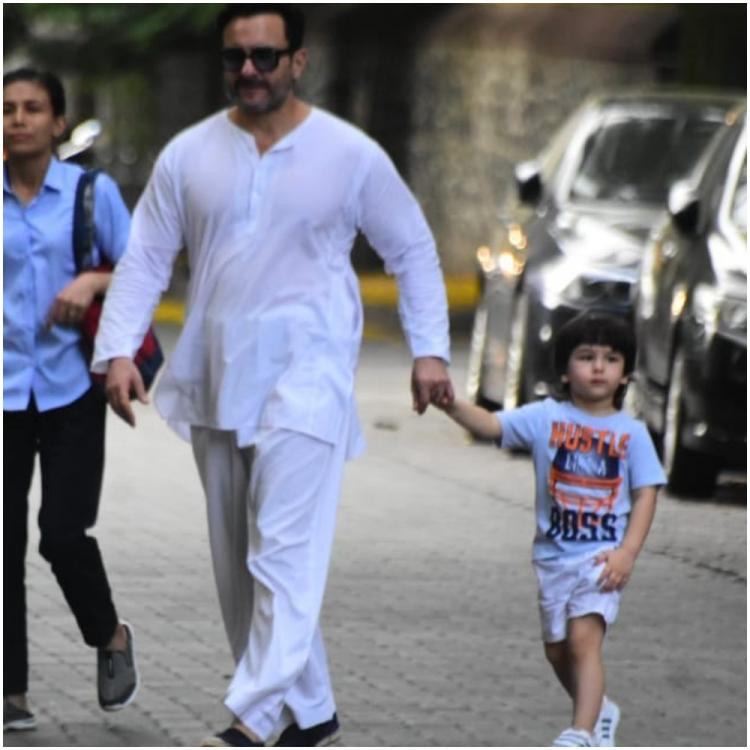 Saif Ali Khan responds to police informing NOT to bring Taimur out with Kareena Kapoor Khan amid COVID 19 terror