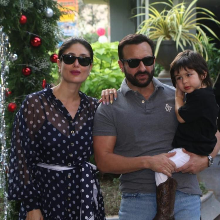 Taimur Ali Khan telling the paps he is three years old on Saif Ali Khan's instruction is adorable much; WATCH