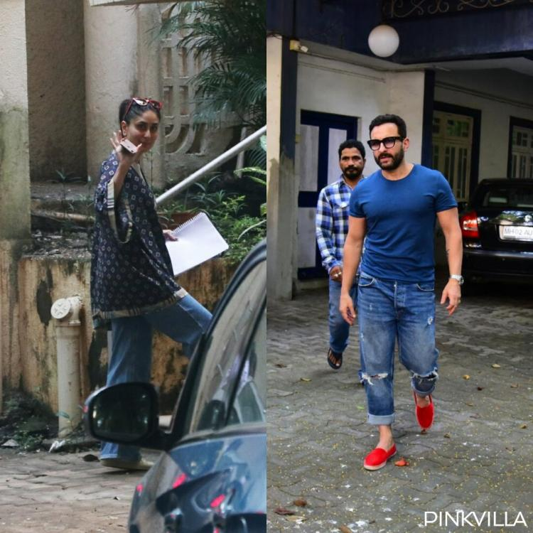 PHOTOS: Kareena Kapoor Khan visits Aamir Khan; Saif Ali Khan colour co ordinates with her as he steps out