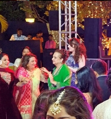 Saira Banu dances her heart out as grandniece Sayyeshaa Saigal gets married to Arya; see photos