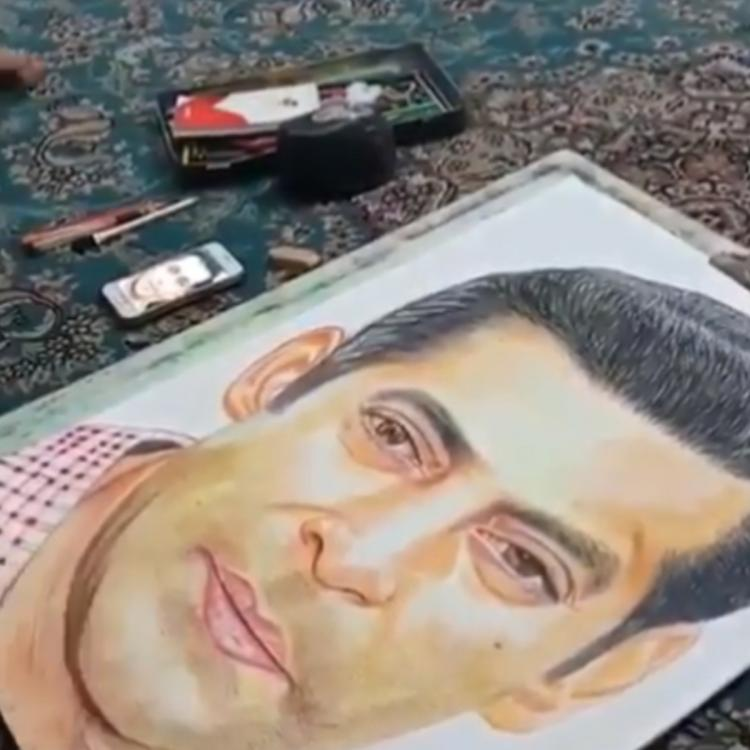 Bharat star Salman Khan sends out love and prayers to a fan after her sketch goes viral