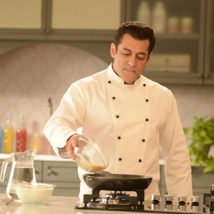 Bigg Boss 13 BTS Video: Salman Khan enjoys shooting as he dons the chef's hat for the promo