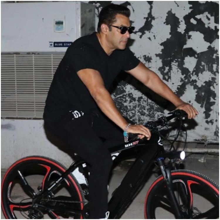 362fb9258 Salman Khan shares an important life lesson in his latest post while cycling  around; WATCH