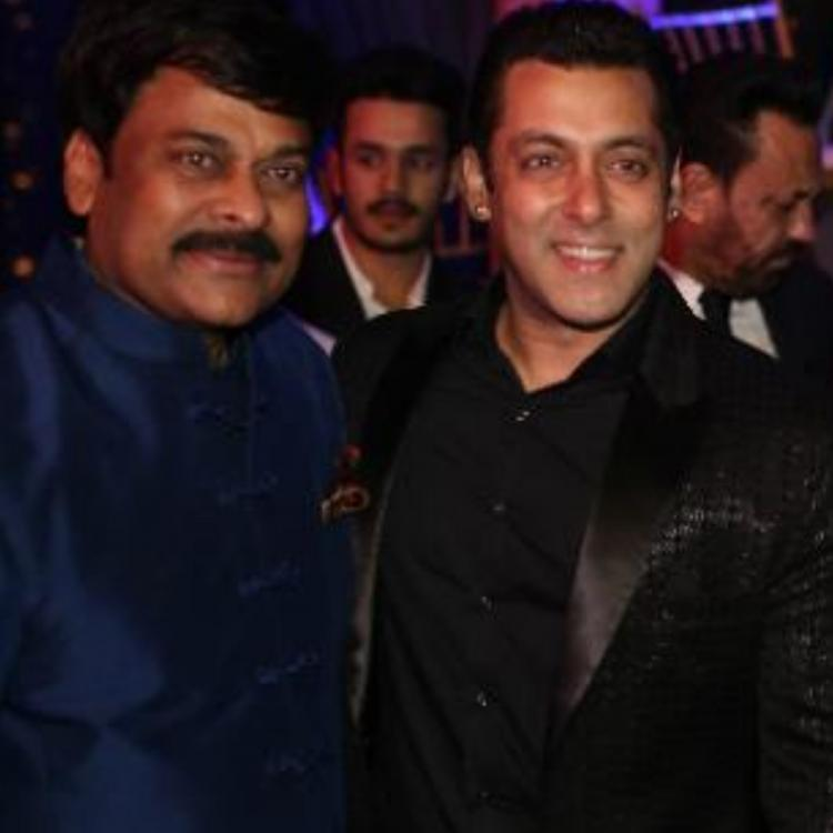 Salman Khan to be the chief guest for Megastar Chiranjeevi's Sye Raa promotions?