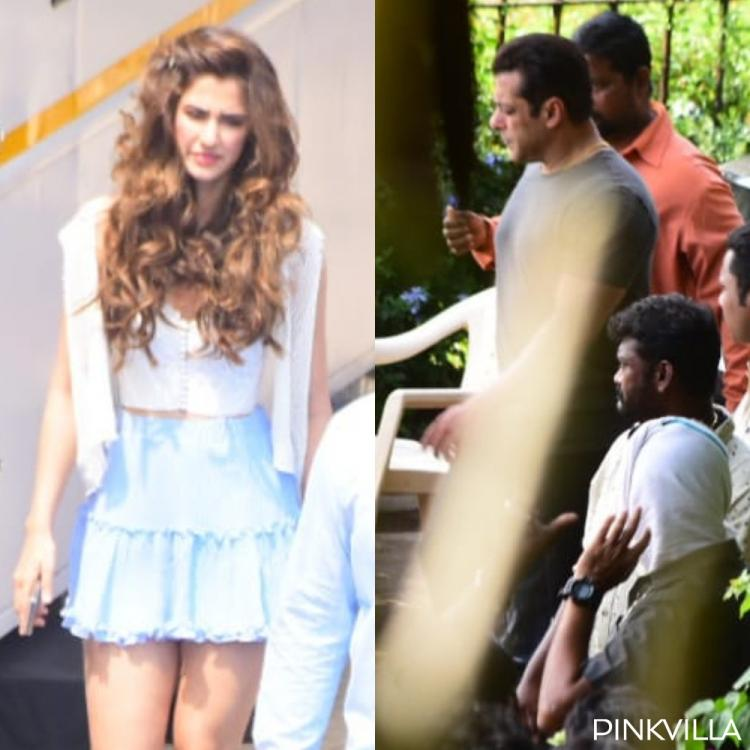 PHOTOS: Salman Khan engrossed in talks with Prabhudheva & Disha Patani spotted in two looks on Radhe sets