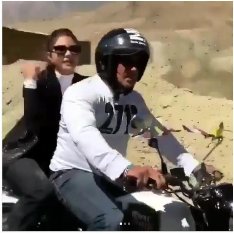 Salman Khan & Jacqueline's throwback video of a bike ride in the hills will make you miss road trips even more