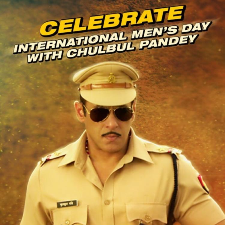 Dabangg 3: Salman Khan wishes everyone a Happy International Men's Day in Chulbul Pandey style; Check it out