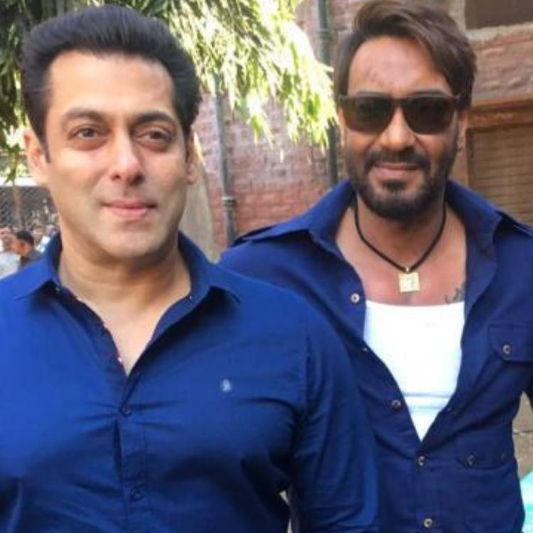 Salman Khan pens a birthday wish for Ajay Devgn; Also asks him to stay safe