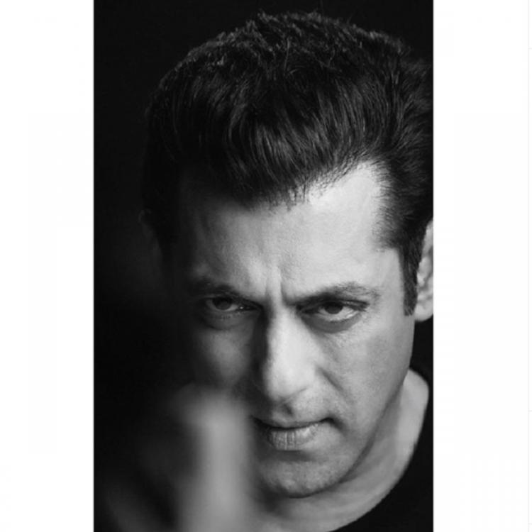 Salman Khan shares a monochrome picture; says 'life used to be black and white but now perhaps it is grey'