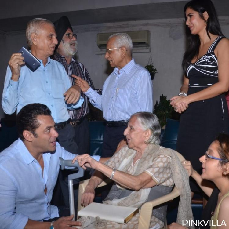 PHOTOS: Salman Khan and Katrina Kaif interact with families who witnessed the 1947 partition