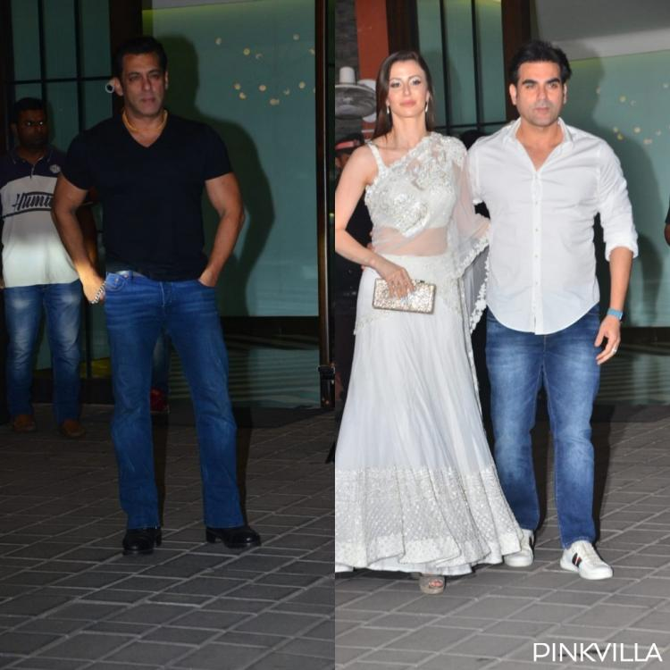 PHOTOS: Salman Khan, Arbaaz Khan and Giorgia, and others attend Arpita Khan & Aayush's anniversary bash