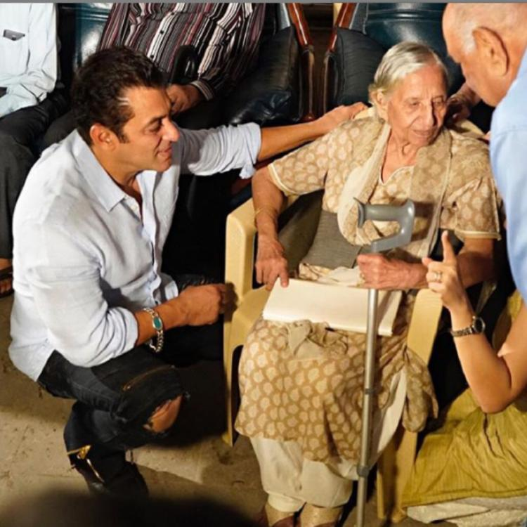 Salman Khan shares a heartfelt post after special screening for the 'real Bharat families'