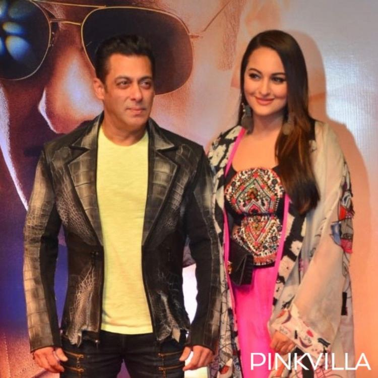 PHOTOS: Salman Khan, Sonakshi Sinha, Saiee Manjrekar and others grace the screening of Dabangg 3