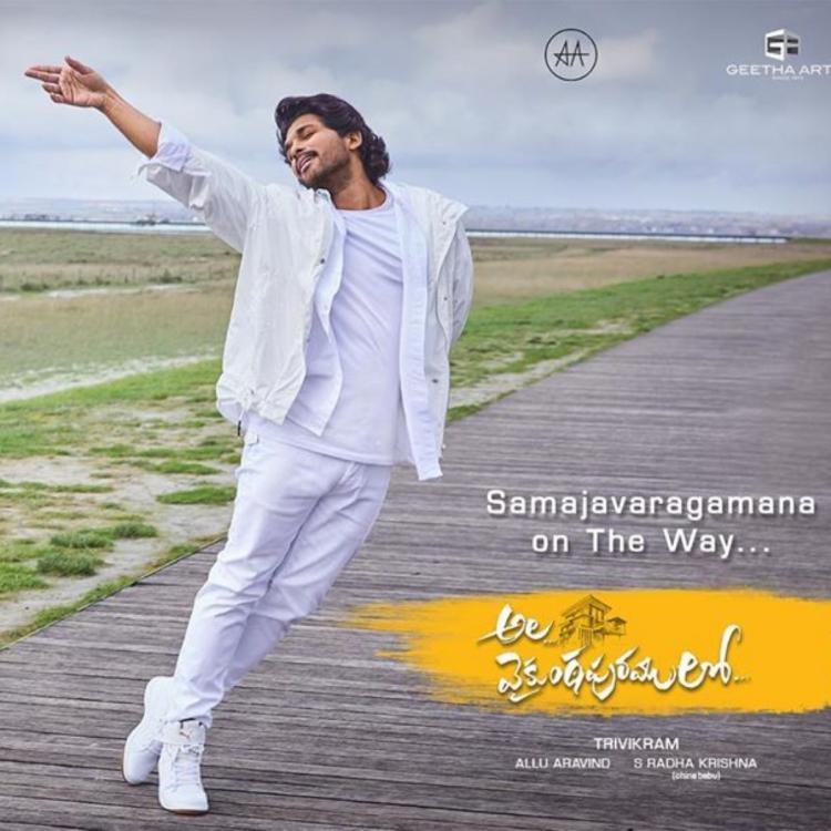 Ala Vaikunthapurramuloo: This behind the scene video of Samajavaragamana from Allu Arjun starrer is exciting