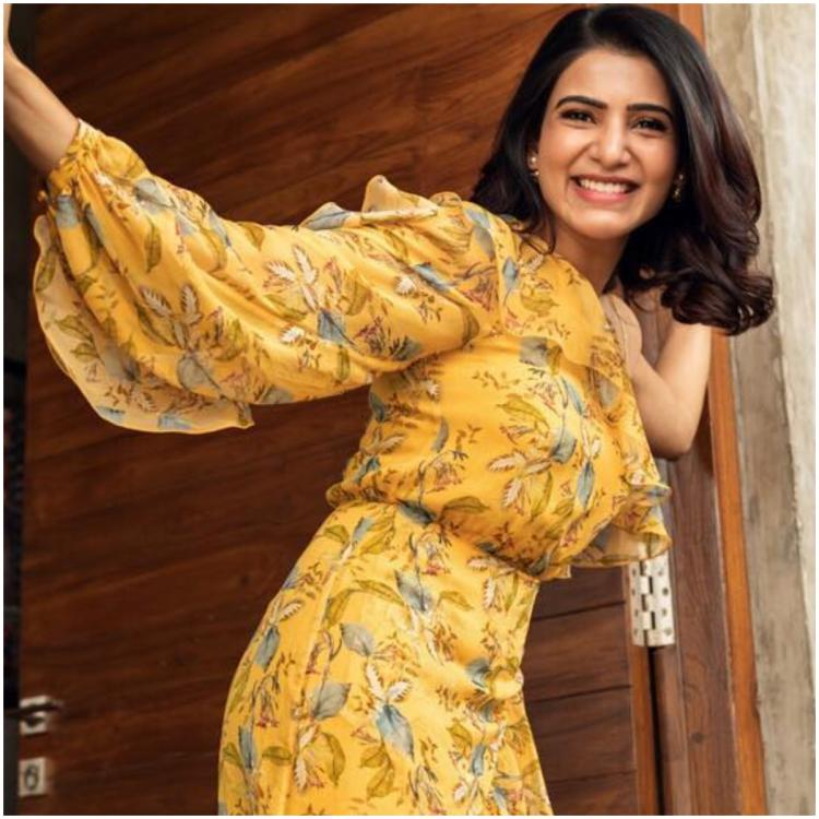 We are crushing over Samantha Akkineni's pretty yellow dress & its setting major summer style goals