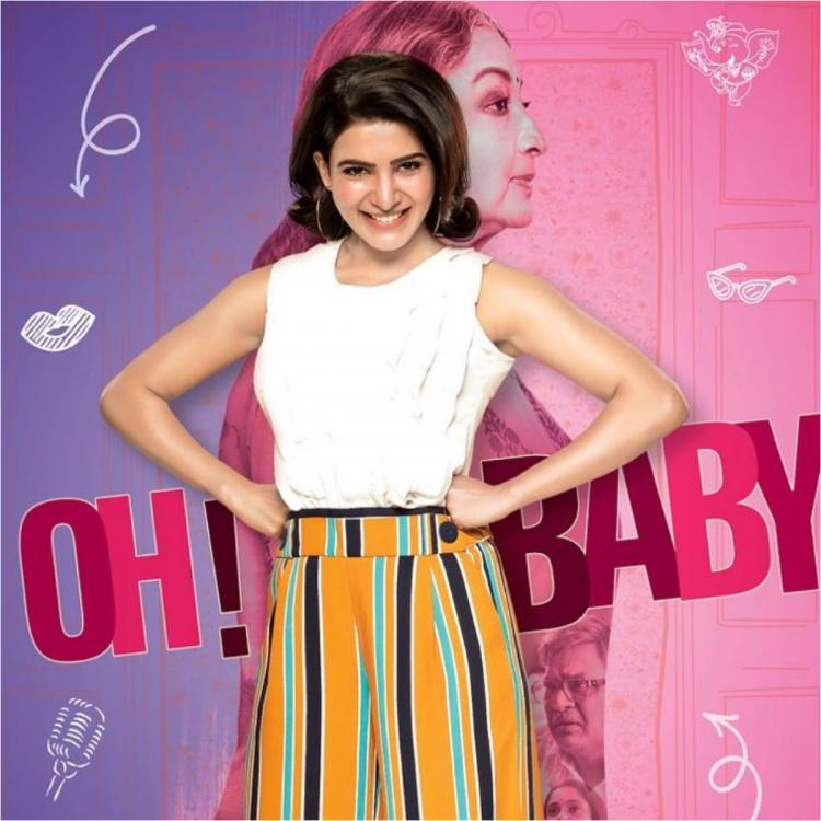 Oh Baby star Samantha Akkineni REACTS to 50 feet tall cut out; Reveals THIS is what she told Naga Chaitanya