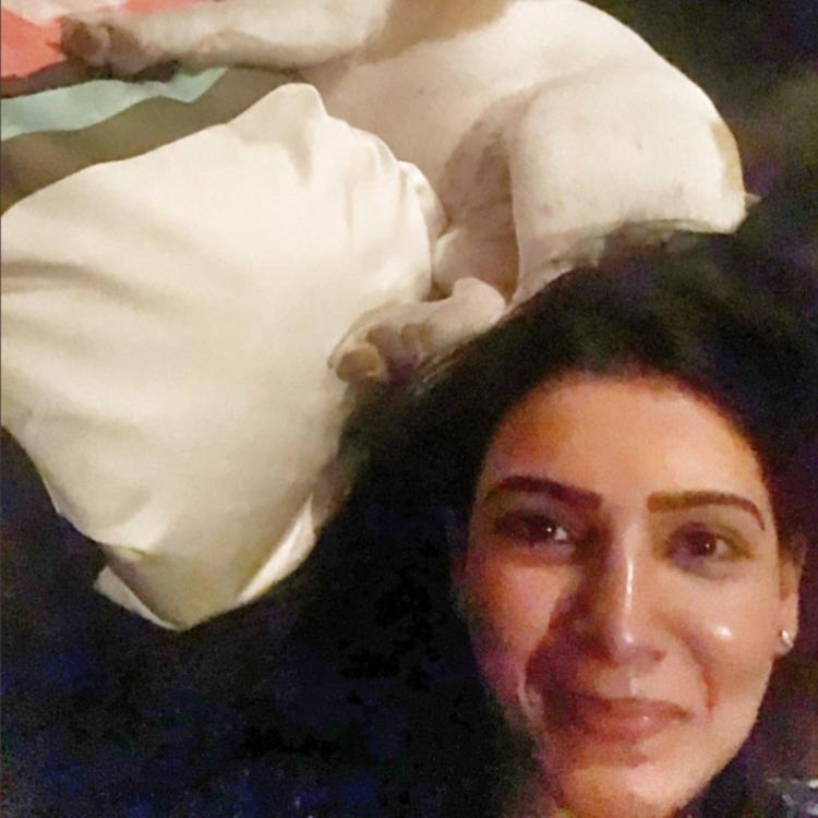 PHOTO: Samantha Akkineni shares a selfie on Oh Baby release day & fans think she had a sleepless night