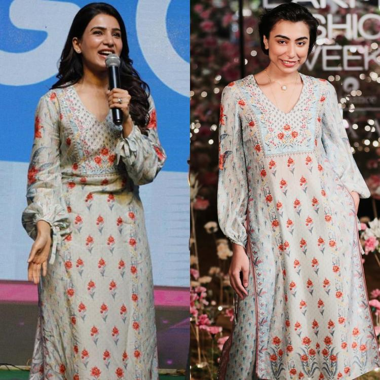 Samantha Akkineni channels her inner flower girl in an Anita Dongre creation